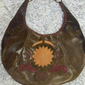 BCBGirls Leather Handbag